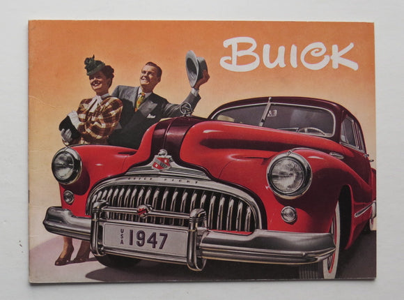 1947 Buick Brochure 40 50 70 Series
