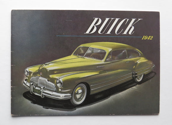 1942 Buick Brochure 40 50 60 70 90 Series