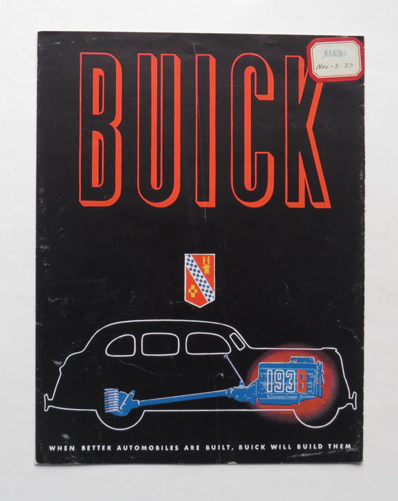 1938 Buick Brochure 60 80 90 Series