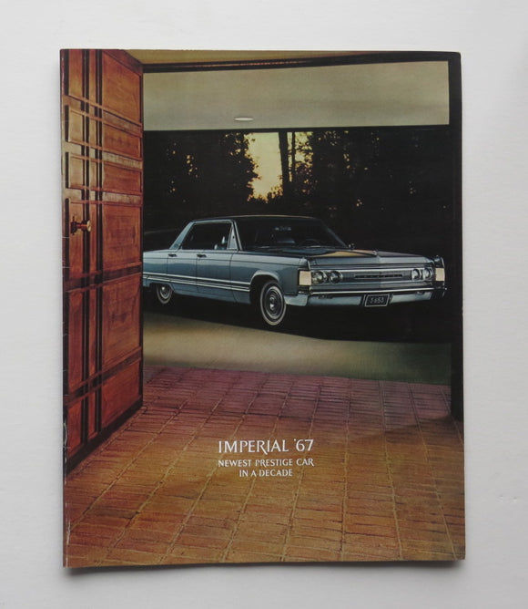 1967 Chrysler Large Brochure Imperial