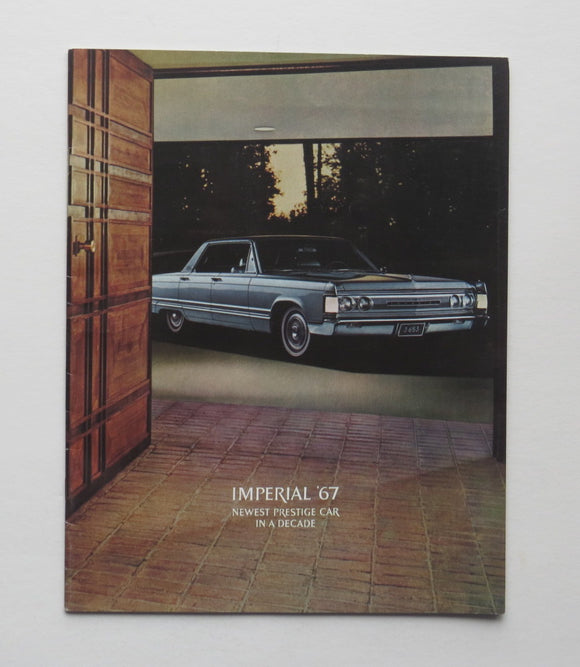 1967 Chrysler Brochure Imperial