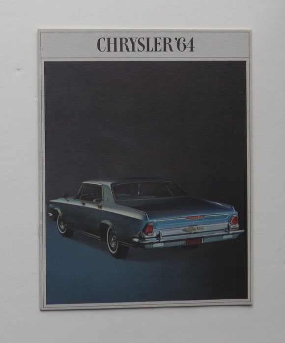 1964 Chrysler Brochure New Yorker 300