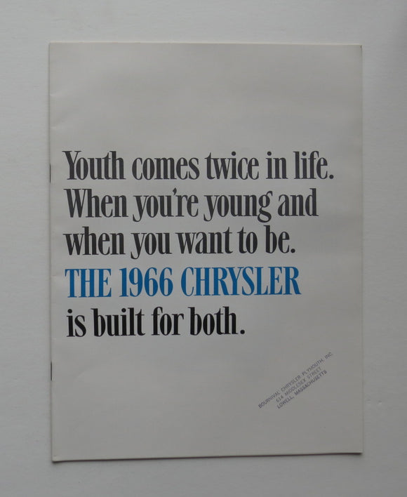 1966 Chrysler Brochure 300 Newport