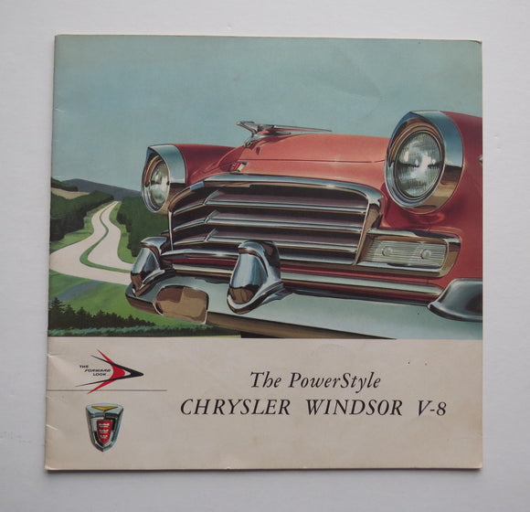 1956 Chrysler Brochure Windsor