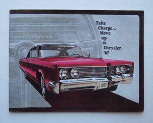 1967 Chrysler Brochure New Yorker Town and Country