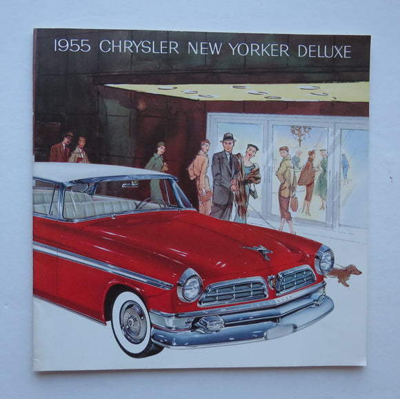 1955 Chrysler Brochure New Yorker Deluxe