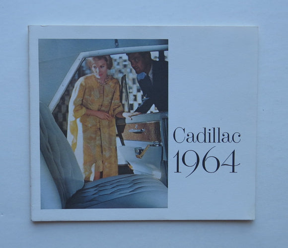 1964 Cadillac Brochure Sixty-Two De Ville Fleetwood