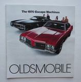 1970 Oldsmobile Brochure 4-4-2 Cutlass F-85