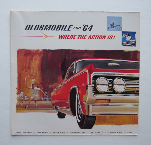 1964 Oldsmobile Brochure Jetstar F-85 Dynamic 88