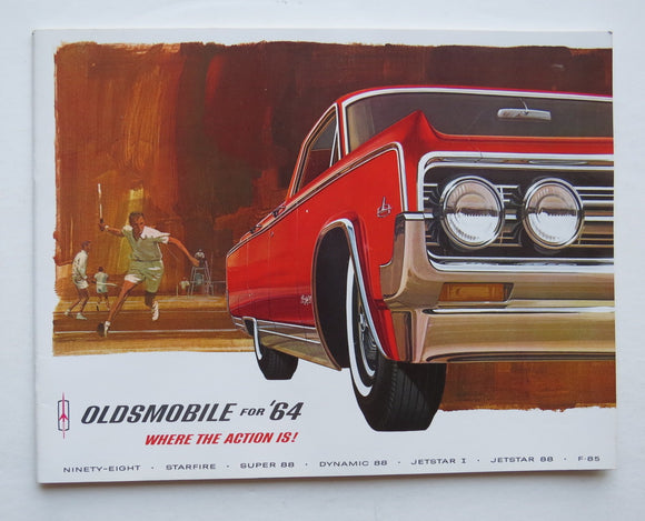 1964 Oldsmobile Brochure Ninety-Eight Starfire Super 88