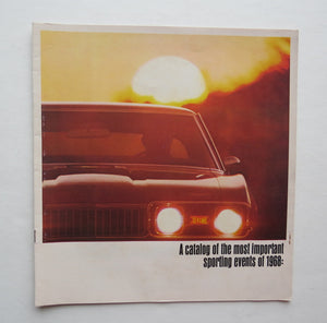 1968 Oldsmobile Brochure 4-4-2 Cutlass Tornado