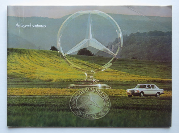 1976 Mercedes Benz Brochure 450 280
