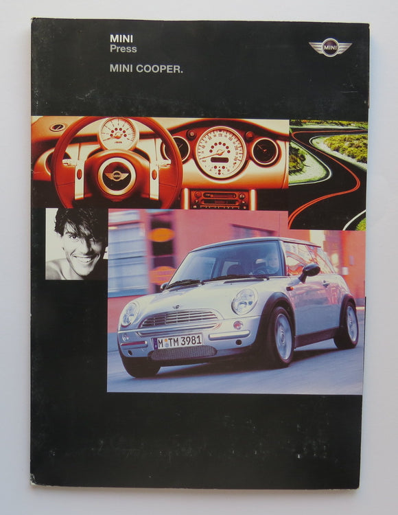 2001 Mini Cooper Press Kit Brochure
