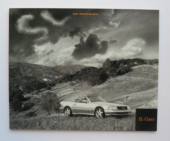 2000 Mercedes Benz SL Brochure 500 600
