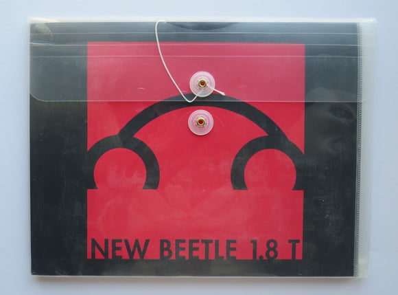 1999 Volkswagen Beetle 1.8 T Rsi Brochure Press Kit