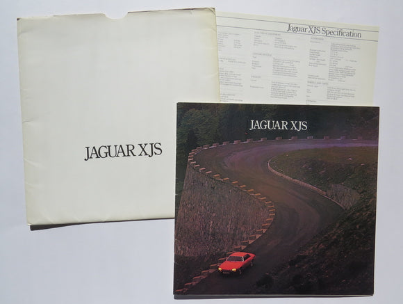 1977 Jaguar XJS Brochure