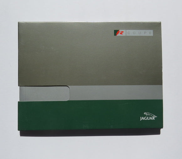 2001 Jaguar Press Kit Brochure R Coupe