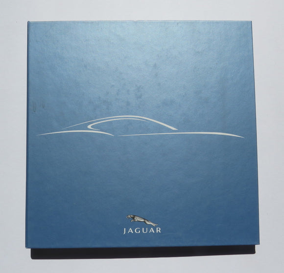 2005 Jaguar Lightweight Coupe Concept Press Kit Brochure