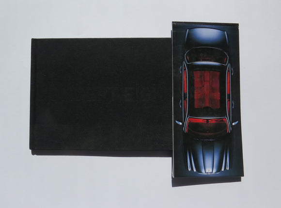 2004 Jaguar Concept Eight Press Kit Brochure