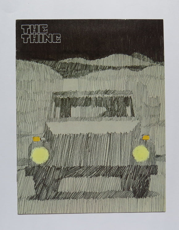 1973 Volkswagen The Thing Brochure