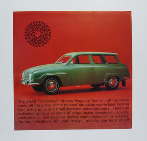 1966 Saab 95 Station Wagon Brochure