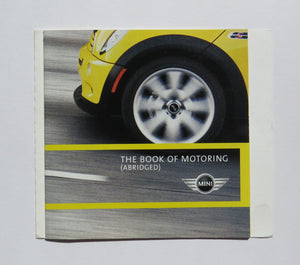 2002 Mini Cooper Book of Motoring Brochure