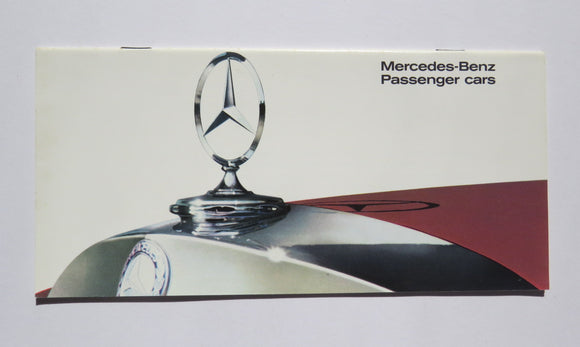1966 Mercedes Benz Brochure 200 230 250 300 600