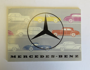 1955 Mercedes Benz Full Line Brochure 180 220 300 190