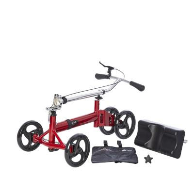 Knee Walker 350 lbs - Red