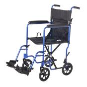 "19"" Steel Companion Chair-Blue"