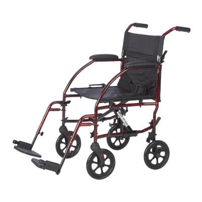 "19"" Deluxe Ultra Compact Aluminum Companion Chair-Laser Red"