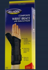 Composite Wrist Brace with Abducted Thumb LT