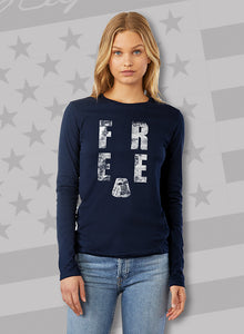 """Basic FREE"" Unisex Long Sleeve T-Shirt"