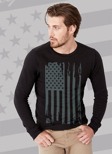 """Battle Flag"" Unisex Long Sleeve T-Shirt"