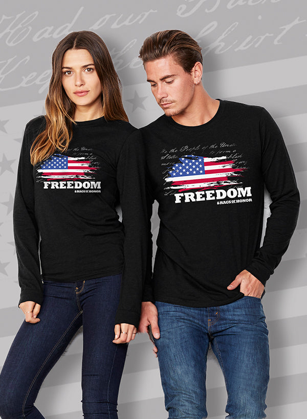 Freedom Unisex Long Sleeve T-Shirt