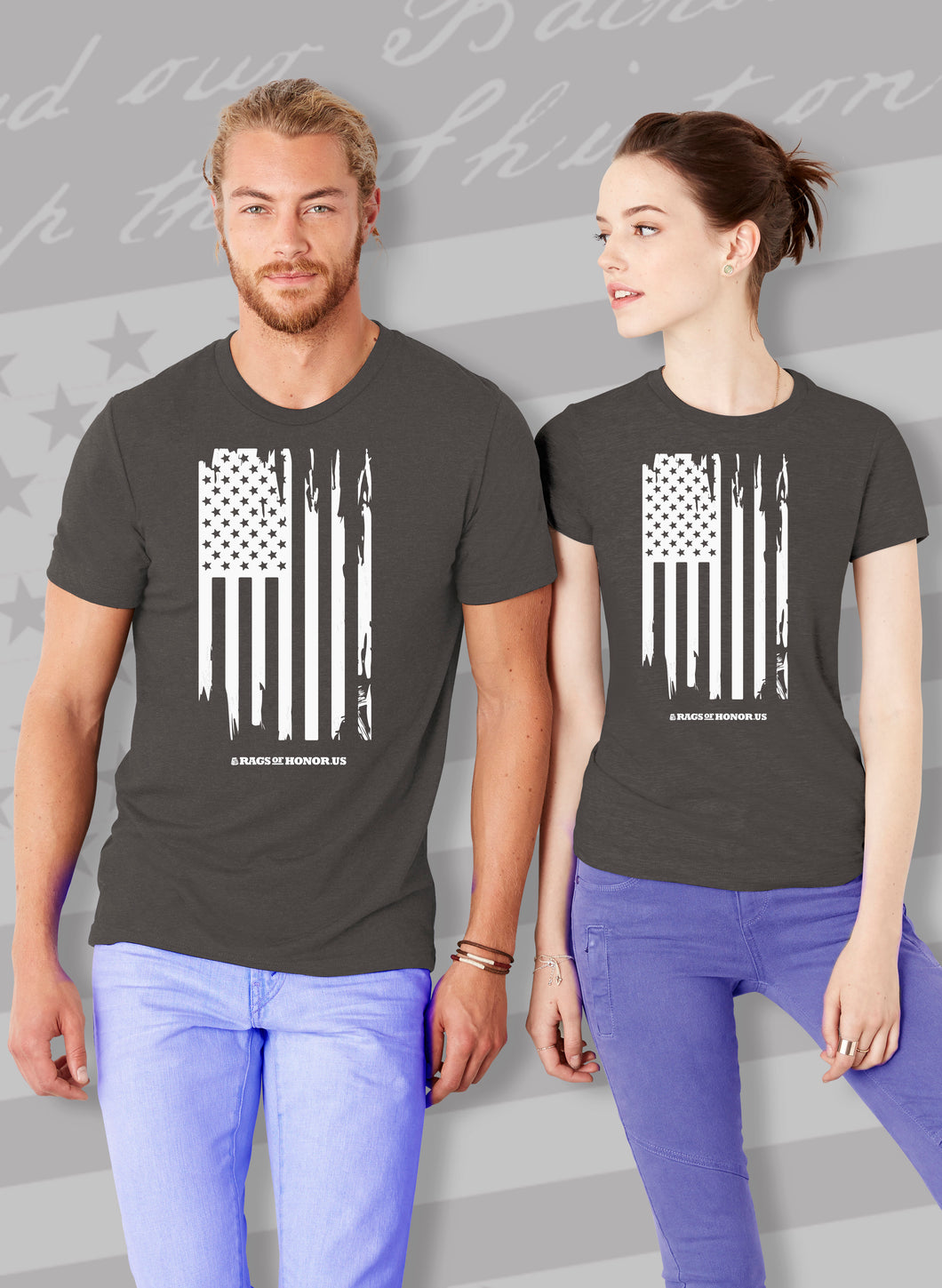 Ragged Flag Unisex T-shirt