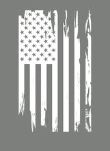 Ragged Flag Unisex Grey T-shirt Design