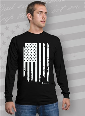 Ragged Flag Unisex Long Sleeve T-Shirt