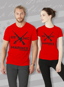 Crossed Rifle Unisex T-Shirt