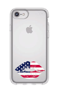 American Kiss iPhone 8  Case