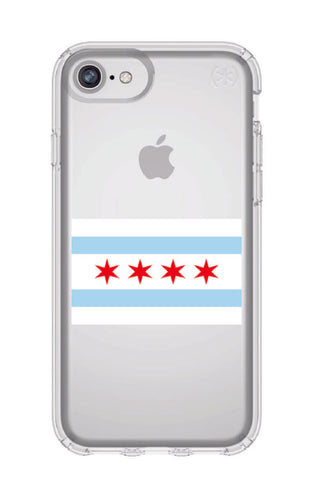 Chicago Flag Speck iPhone 8 Case