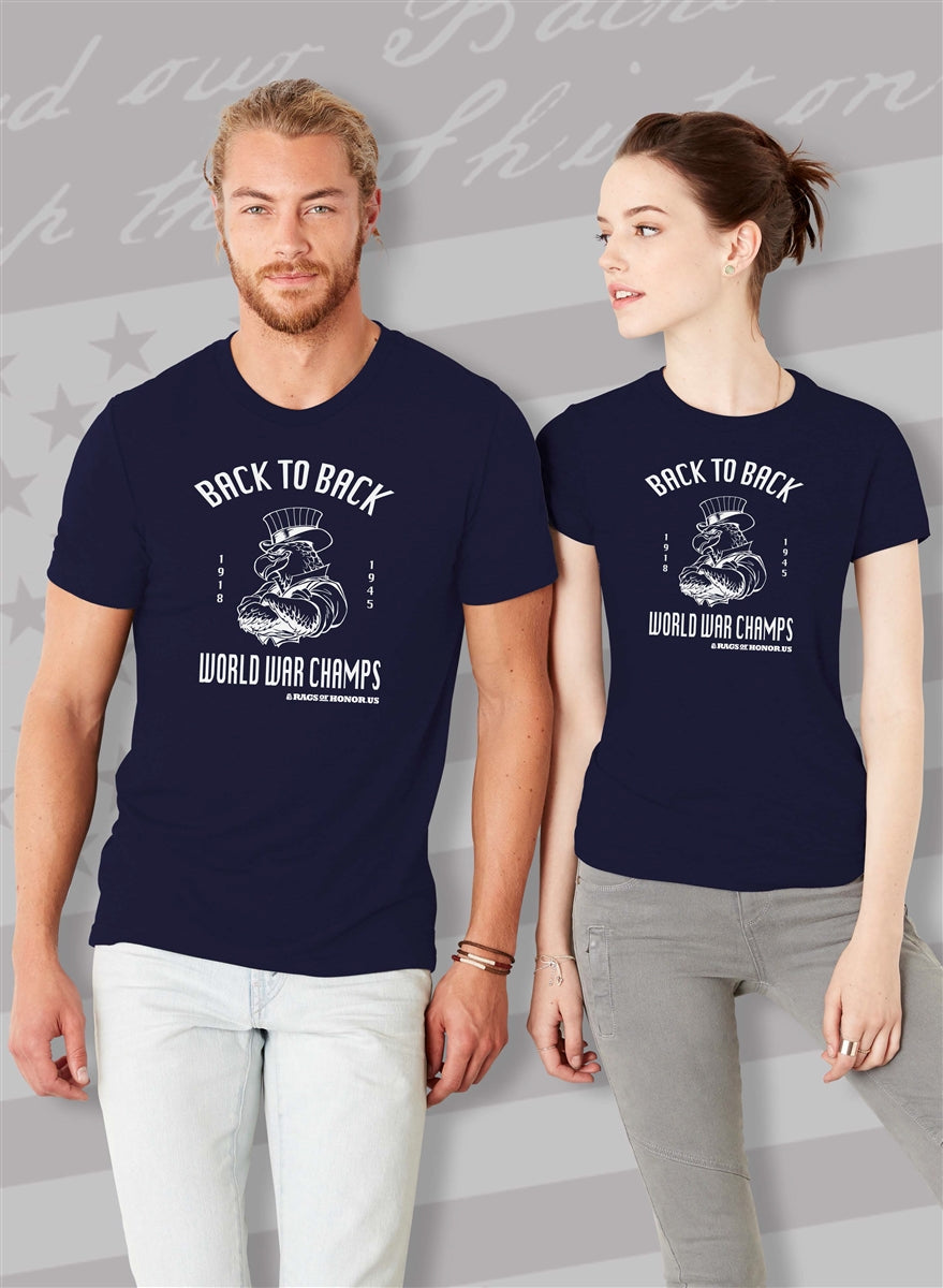 Back To Back Champs Eagle Unisex T-Shirt