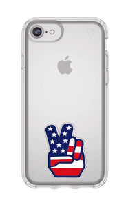 Peace Sign Speck iPhone 6/7/8 Case