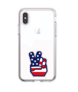 Peace Sign iPhone X Speck Case