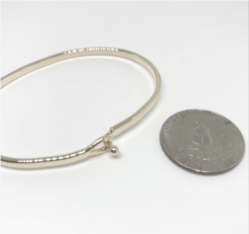 """BE JOYFUL ALWAYS"" Message Bracelet-Gold"