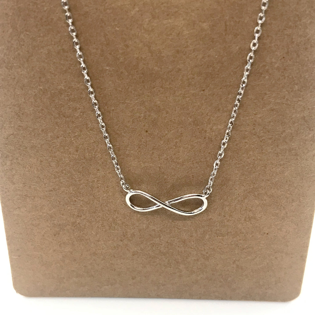 Infinity Necklace- Silver