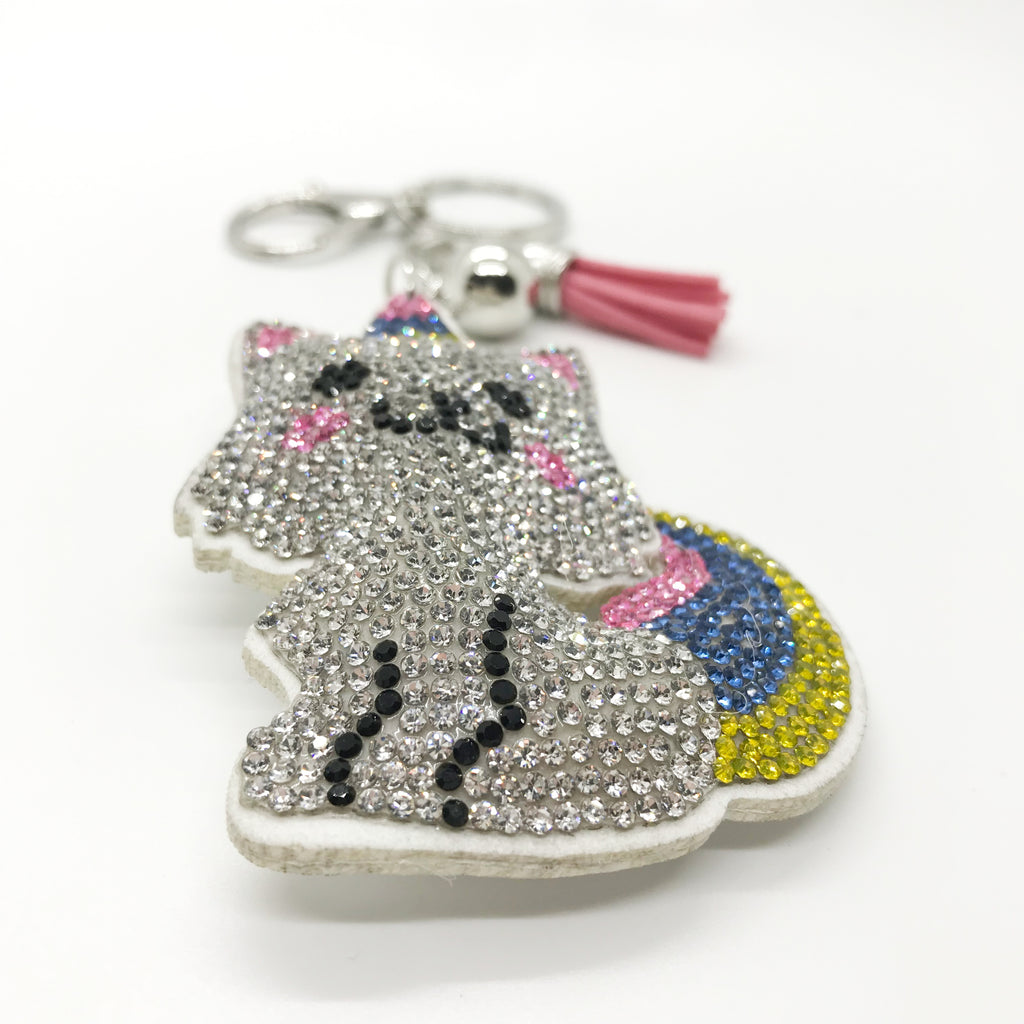 Unicorn Kitty Keychain