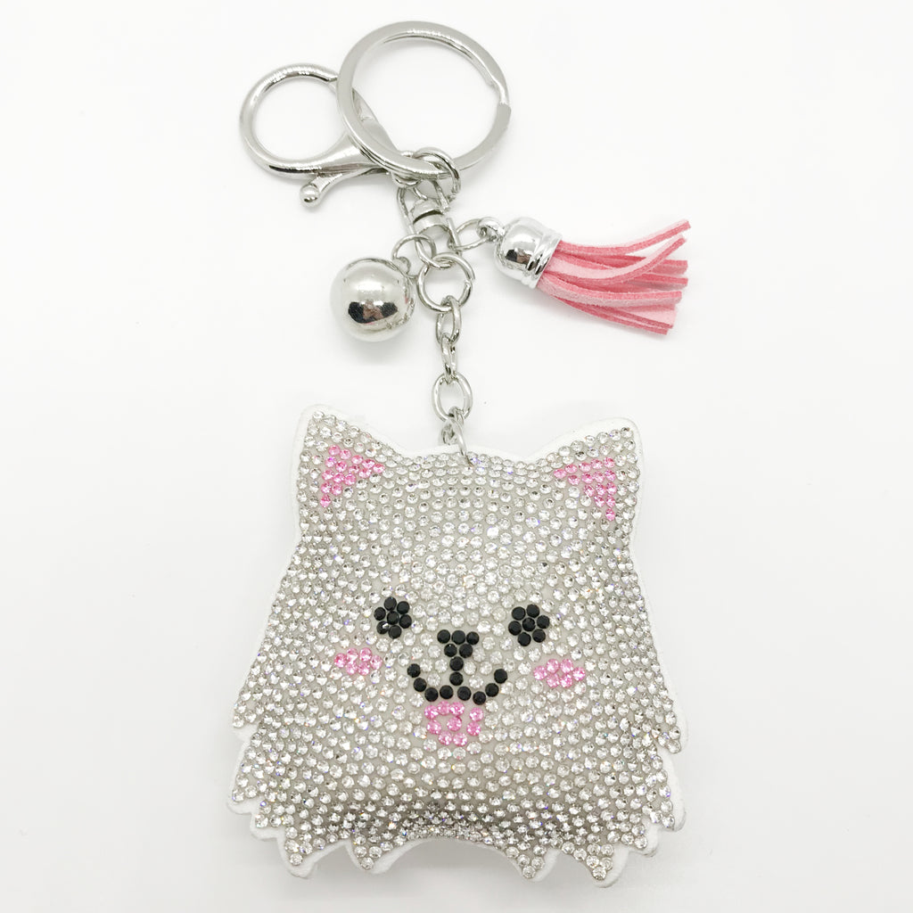 Happy Kitty Keychain