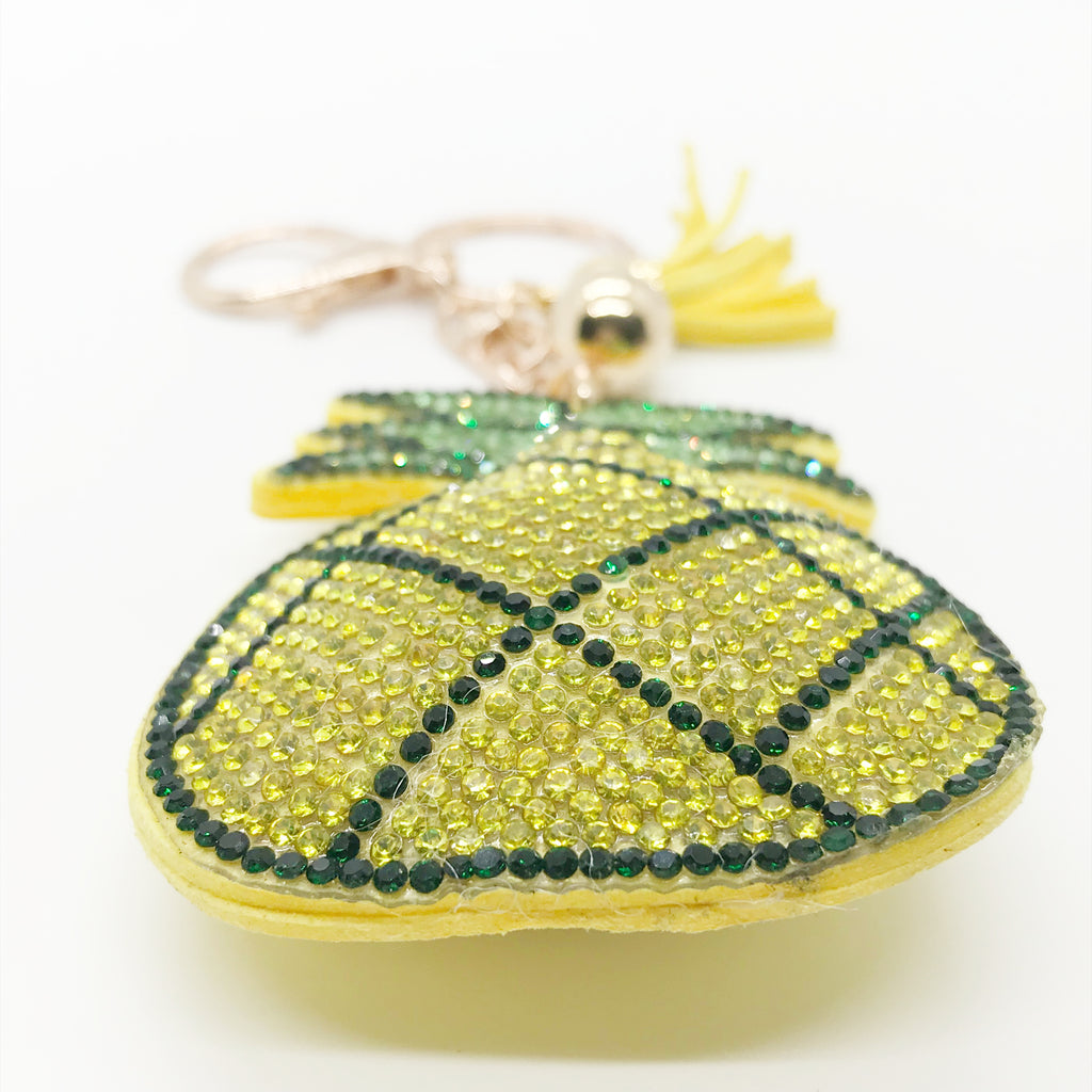 Pretty Pineapple Keychain