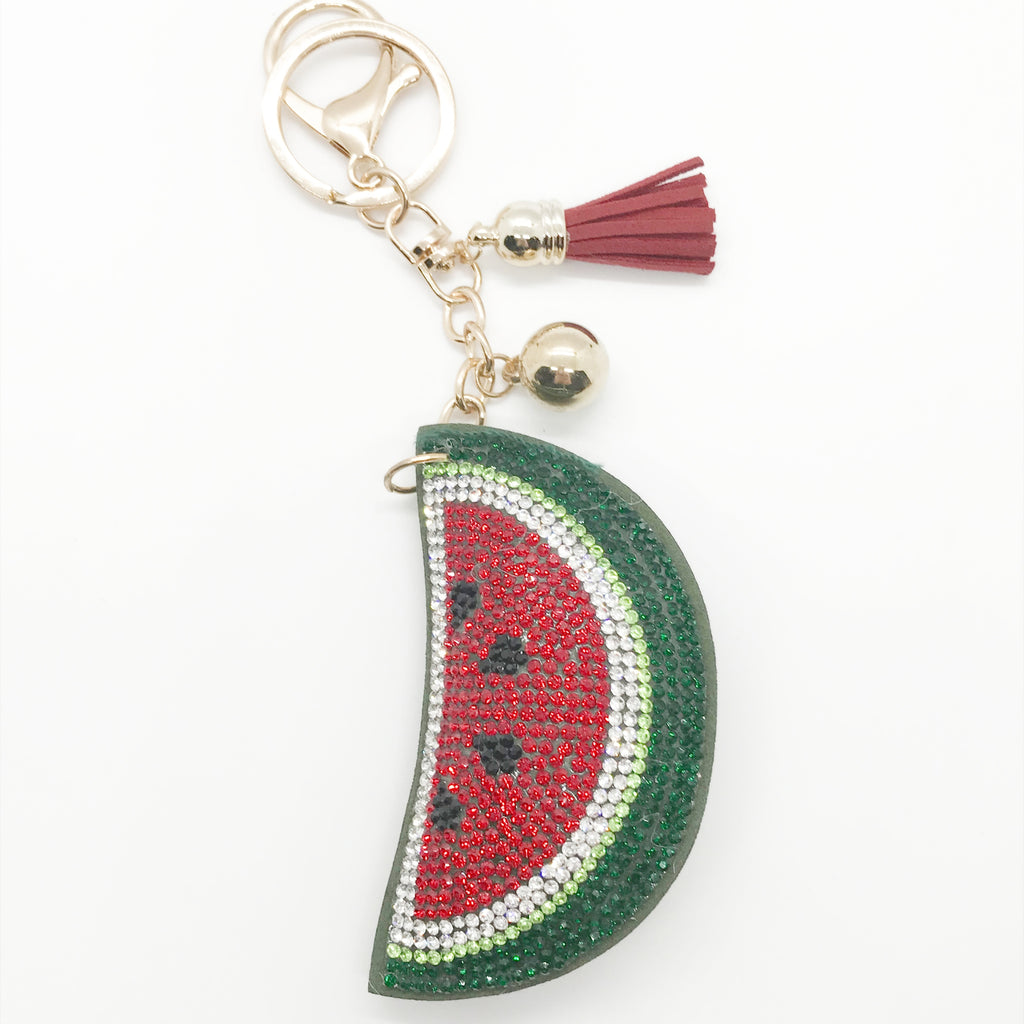 Watermelon Slice Keychain